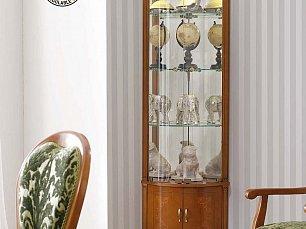 Панамар (Panamar) витрина угловая 708.001 орех/вишня