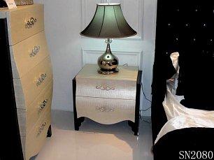 Хемис тумба прикроватная шампань 2088 глянец