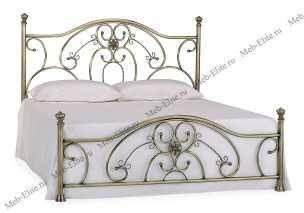 Элизабет кровать 140х200 медь