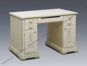 Оливка (Примавера) стол письменный 2 тумбы