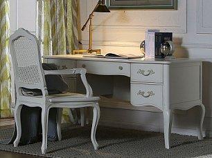 Кантри стол письменный белый 881