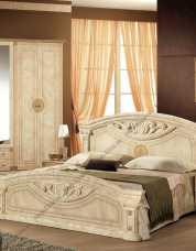 Рома кровать  160х200  беж