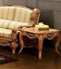 Мик чайный столик 65х65 МК-3410 нат. ротанг