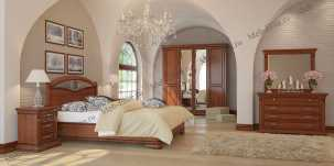 Набукко спальня орех