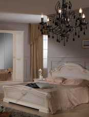 Ирина кровать 160х200 беж