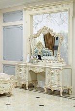Версаль туалетный стол с зеркалом + пуф