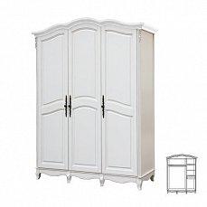 Белая роза шкаф 3 дверный F6683  S06