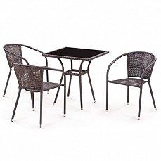 Комплект мебели 3+1 T282ВNS/ Y137В-W51-3PCS иск. ротанг