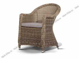 Глобо: кресло (Равенна) иск. ротанг