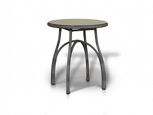 Форли стол кофейный 70х70 круглый иск. ротанг
