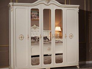Сафина Аворио шкаф 5 дверный с зеркалом