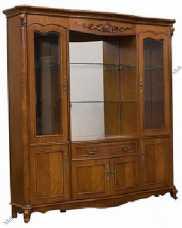 Карпентер 230-1 шкаф-витрина с 4 дверный со стеклом