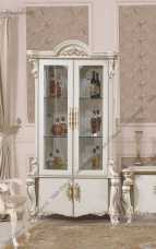 Опера Крема витрина 2 дверная