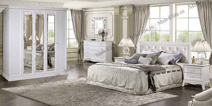 Амели спальня штрих лак