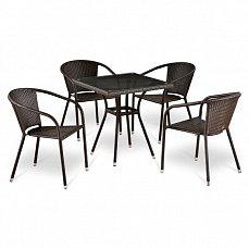 Комплект мебели 4+1 T283ВNT-W2390/ Y137С-W51-4PCS иск. ротанг